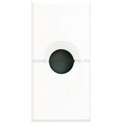 Legrand Bticino Axolute HD4953 White Заглушка с выходным отверстием 9 мм