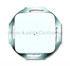 Legrand Bticino Axolute HD4955A20 White Вывод кабеля с нерасплавляющейся лицевой панелью, 20А