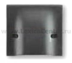 Legrand Bticino Axolute HS4955/45 Антрацит Вывод кабеля 45A с нерасплавляющейся лицевой панелью