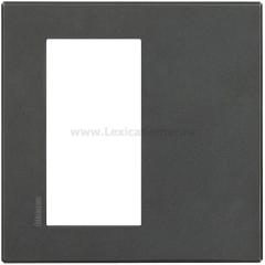 Legrand Bticino Axolute HW4824HS Eteris Антрацит Рамка 4 мод