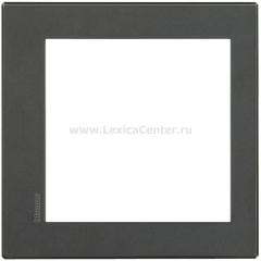 Legrand Bticino Axolute HW4828HS Eteris Антрацит Рамка 8 мод