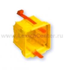 Legrand Bticino Axolute PB502W Eteris/LivingLight AIR Коробка для гипсокартонных стен, 2 модуля