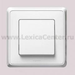 Legrand Cariva Белый Переключатель 1-клавишный 773657