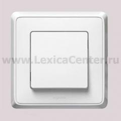 Legrand Cariva Белый Выключатель 1-клавишный 773656