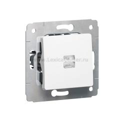 Legrand Cariva Белый Выключатель 1-клавишный с подсветкой 773610