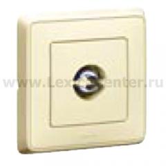 Legrand Cariva Крем Розетка TV проходная 14 дБ, 4-2150 МГц 773780