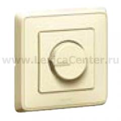 Legrand Cariva Крем Светорегулятор поворотный 300W для л/н (вкл поворотом) 773717