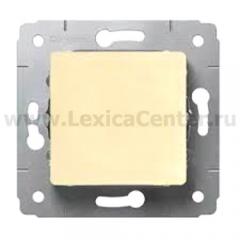 Legrand Cariva Крем Выключатель 1-клавишный 773756