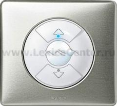 Legrand Celiane Бел Накладка электронного жалюзийного выключателя (мех.67251,67256)