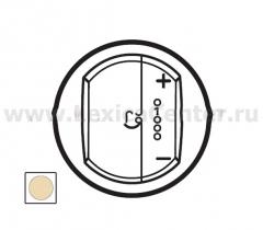 Legrand Celiane Беж Накладка светорегулятора с индикацией