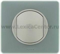 Legrand Celiane Беж Накладка выключателя простого, приемник-передатчик, PLC/ИК - 2500Вт