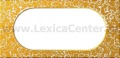 Legrand Celiane Фарфор Рамка Золотая Феерия 2поста (4/5 модулей)
