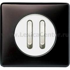 Legrand Celiane Графит Клавиша 2-ая для бесшумного переключателя 67013 и кнопки 67033