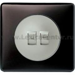 Legrand Celiane Графит Клавиша 2-ая для переключателя с рычажком 67016 и кнопки 67036