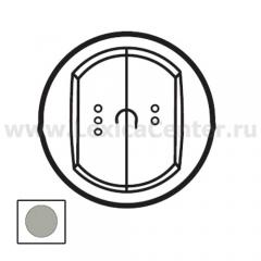 Legrand Celiane Титан Накладка выключателя 2-кл с ДУ с индикатором
