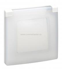Legrand Etika Бел Рамка 1-ая IP44 672550