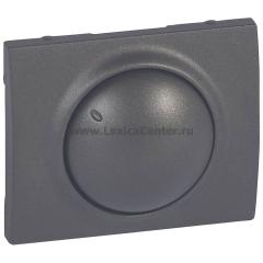Legrand Galea Life Темная Бронза Накладка для светорегулятора поворотного 400/600Вт (мех.775654)