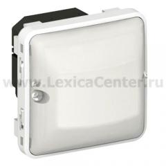 Legrand Plexo Серый/Белый Мех Датчик движения Стандарт 60-300Вт для л/н 2-х пров.схема подкл-я IP55 (арт. 69500)