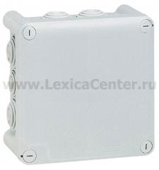 Legrand Plexo Серый Коробка распределительная, 10 выводов,IP55 130х130х74