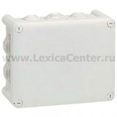 Legrand Plexo Серый Коробка распределительная, 10 выводов,IP55 155х110х74