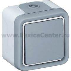 Legrand Plexo Выключатель кнопочный 1НО 10А (арт. 69720)