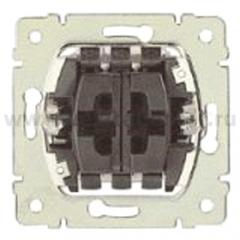 Legrand PRO 21 Мех Переключатель на 2 напр. + кнопка