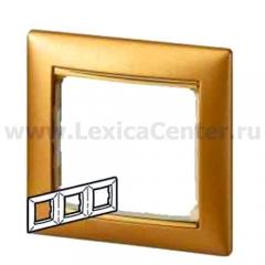 Legrand Valena Матовое золото Рамка 3-ая 770303
