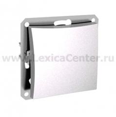 Lexel Дуэт белый Одноклавишный переключатель (сх.6) (SE WDE000161)