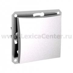 Lexel Дуэт белый Одноклавишный выключатель (сх.1) (SE WDE000111)