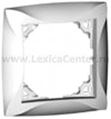 Lexel Дуэт белый Рамка 1 - местная (SE WDE000101)