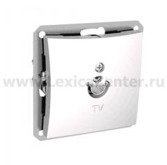 Lexel Дуэт белый Розетка телевизионная TV антенный коннектор 0,7dB (SE WDE000191)