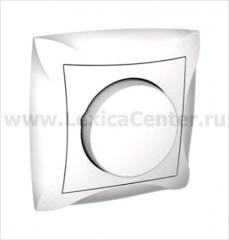 Lexel Дуэт белый Светорегулятор поворотный 300Вт, для л/н и г/л на 230В, в сборе (SE WDE000134)
