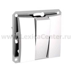 Lexel Дуэт белый Трехклавишный выключатель (сх.3) (SE WDE000131)