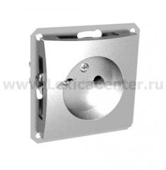 Lexel Дуэт серебро Розетка без заземления (SE WDE000341)