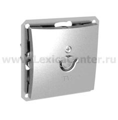 Lexel Дуэт серебро Розетка телевизионная TV антенный коннектор 0,7dB (SE WDE000391)