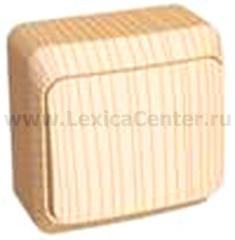 Lexel Этюд выключатель одноклавишный (накладные) (BA10-001d)