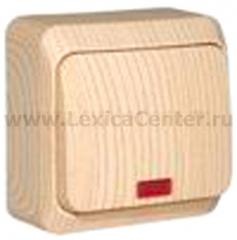 Lexel Этюд выключатель с подсветкой (накладные) (BA10-005d)