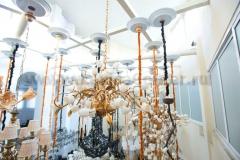 Лифт подъемник для люстры 150 кг Mw light Lift MW-150