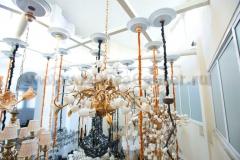 Лифт подъемник для люстры 150 кг поворотный Mw light Lift MW-150R