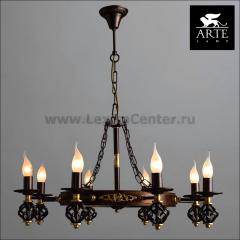 Люстра Arte lamp A4550LM-8CK Cartwheel