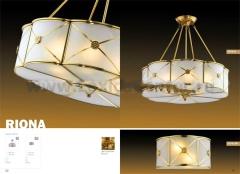 Люстра Odeon Light 2270/6 бронза RiOna