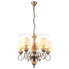 Люстра подвесная Arte lamp A9070LM-5AB Ivory