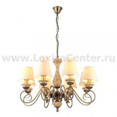 Люстра подвесная Arte lamp A9070LM-8AB Ivory