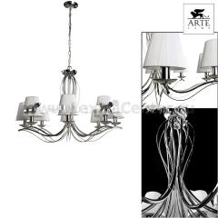 Люстра подвесная Arte lamp A9521LM-8CC Damain