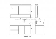 Мебель современная BC-6019-1200