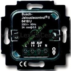 Механизм электронного выключателя для жалюзи (ABB) [BJE6418 U] 6410-0-0375