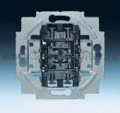 Механизм кнопки однополюсной (перекидной контакт) (ABB) [BJE2020 US-206] 1413-0-0517