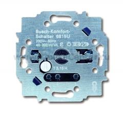 Механизм комфортного выключателя 40-300Вт/ВА (ABB) [BJE6815 U] 6800-0-2270