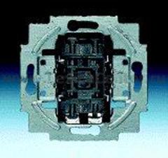 Механизм переключателя 1 клавишного с лампой (ABB) [BJE2000/6 USK] 1022-0-0474