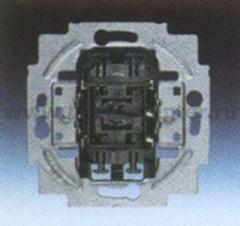 Механизм переключателя 2-х клавишного (ABB) [BJE2000/6/6 US] 1011-0-0928